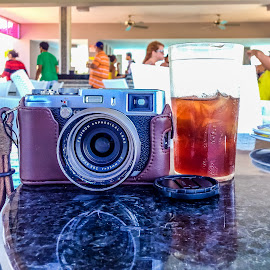 My Baby by Jack Brittain - Instagram & Mobile iPhone ( colour, camera, drink, costa rica, fuji x100s, object, iphone5 )