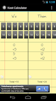 Screenshot of حاسبة الكوت