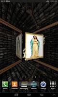 Screenshot of 3D Virgin Mary Live Wallpaper