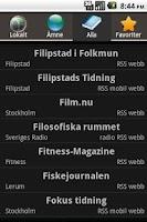 Screenshot of Nyheterna