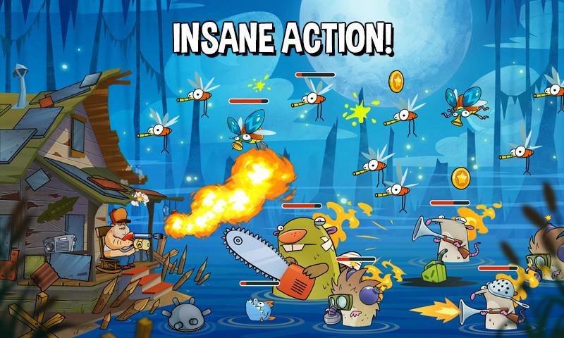 Swamp Attack Screenshot 4