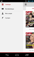 Screenshot of Gala le magazine