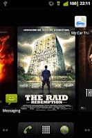 Screenshot of Recent Cinema Releases