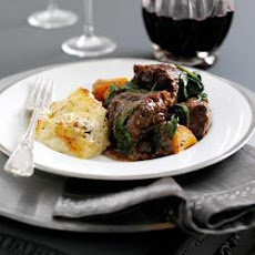 Oxtail Stew with Celeriac and Potato Gratin