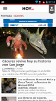 Screenshot of Diario HOY