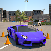 APK Game Driving School 3D Parking for BB, BlackBerry