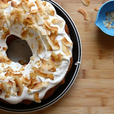 White Bean Bundt Cake