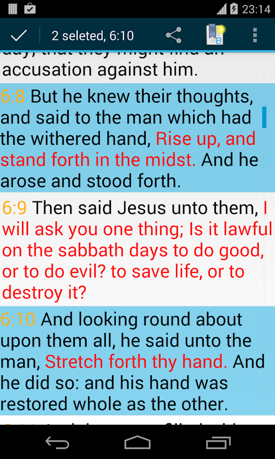 Bible Kjv Android Apps On Google Play