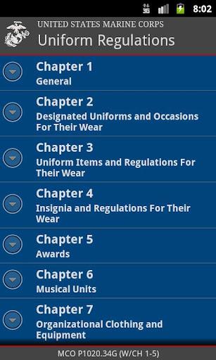 【免費書籍App】Marine Corps Uniforms-APP點子