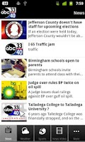 Screenshot of ABC 3340 - Alabama's News Lead