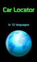 Screenshot of Car Locator in12 Languages
