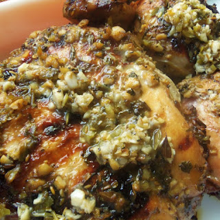 Grilled Sour Orange & Garlic Mojo Chicken