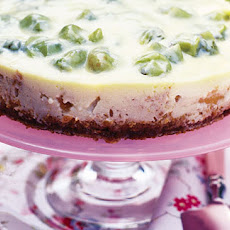 Baked Gooseberry, Ginger And Crème Fraîche Cheesecake Recipe