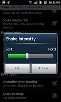 Screenshot of PowerAMP ShakeMusicTimer Trial