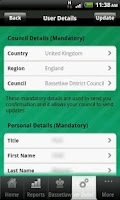 Screenshot of Bassetlaw Council Services