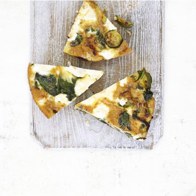 Spinach & Courgette Frittata