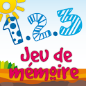 1.2.3 Sun French Memory Game icon