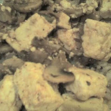 Mushroom Paneer Curry (Diet Version)