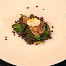 Pork Escalopes With Spiced Lentils