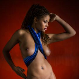 Black Pearl by Reto Heiz - Nudes & Boudoir Artistic Nude ( nude, on location, classical nude, nudeart, black pearl )