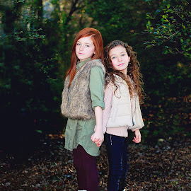 Sisters by Jennifer Olmstead - Babies & Children Child Portraits