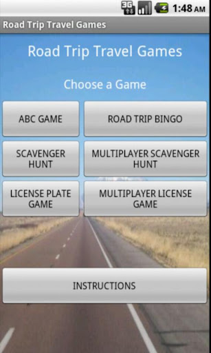 Road Trip Travel Games