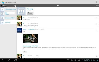 Screenshot of Vita for Facebook