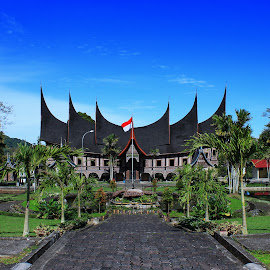 Rumah Gadang at West Sumatera by Alvendo Aranski - Buildings & Architecture Architectural Detail