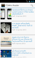 Screenshot of iT24Hrs Reader