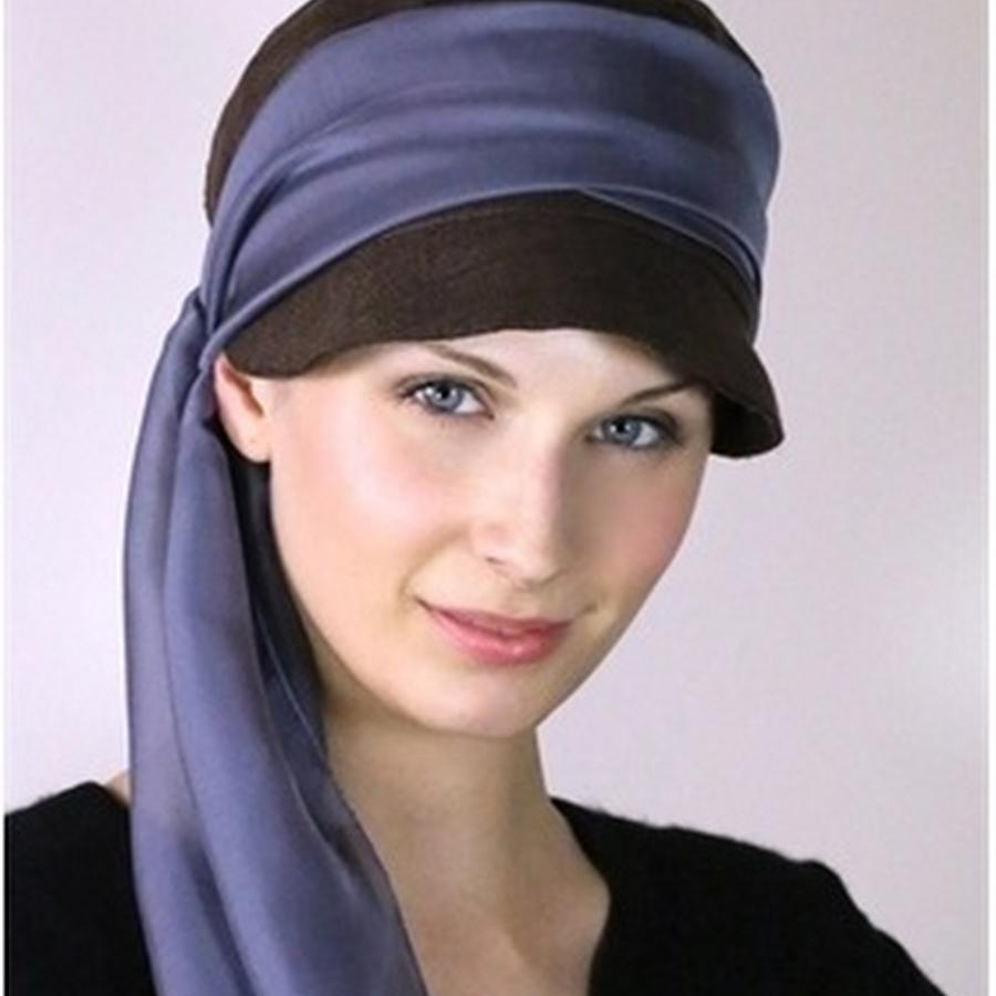Silk soft hat bitter choc lush wrap