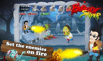 Screenshot of Bloody Sniper HD Premium