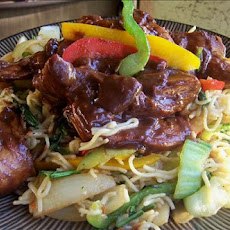Hoisin Noodle Stir-Fry