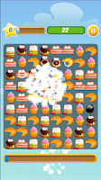 Screenshot of Candy Cake Mania-Match 3 Cakes