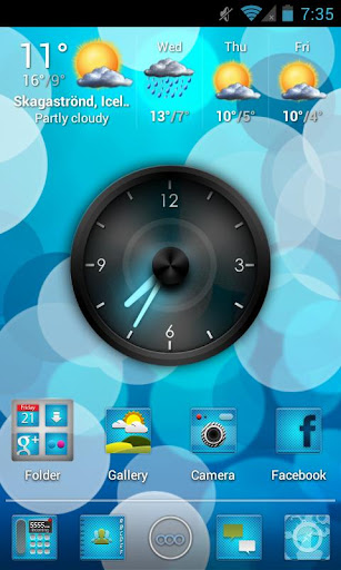 ImagineHD Blue Apex Nova Theme