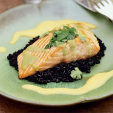 Seared Wasabi-Glazed Salmon with