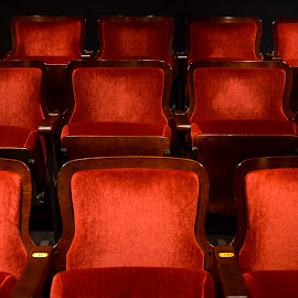 theater seats by Gene Myers - Buildings & Architecture Other Interior ( shotsbygene, red, american theater, virginia, theater, seats, phoebis, gene myers,  )