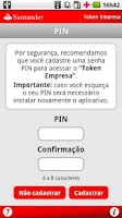 Screenshot of Token Empresa