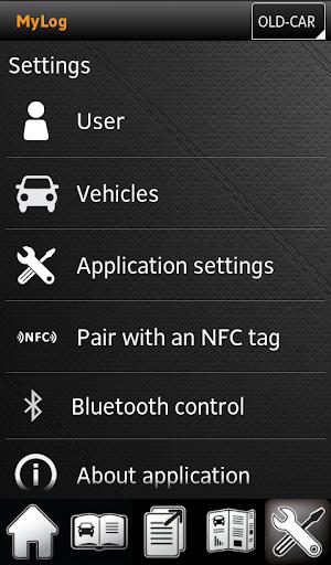 MyLog GPS Trips Logbook - screenshot