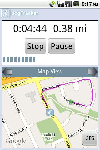jogtracker for android screenshot