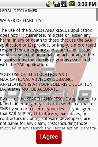 Search and Rescue SAR