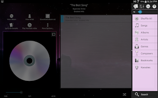 Screenshot of Music Player (Remix)