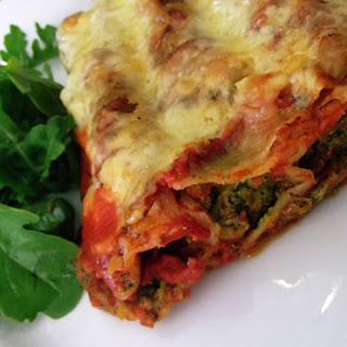 Butternut, Spinach and Ricotta Cannelloni