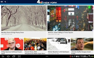 Screenshot of NBC New York
