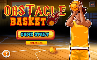 Screenshot of Obstacle Basketball