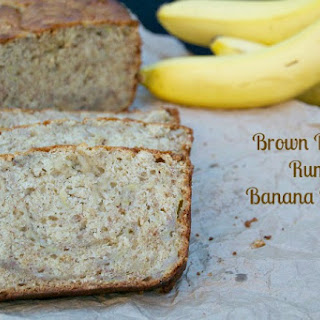 Brown Butter Rum Banana Bread