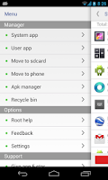 Screenshot of System app remover (ROOT)