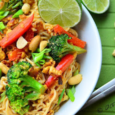 Pad Thai with Shirataki Noodles/Miracle Noodles