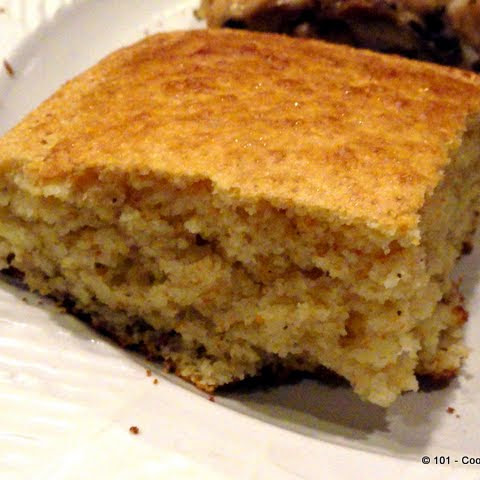 From Scratch Cornbread in a Jiffy