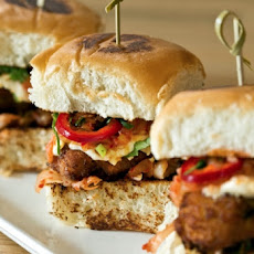 Oyster Po'Boy Sliders