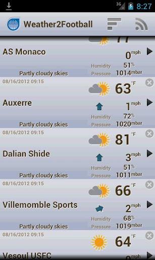 Weather2Football